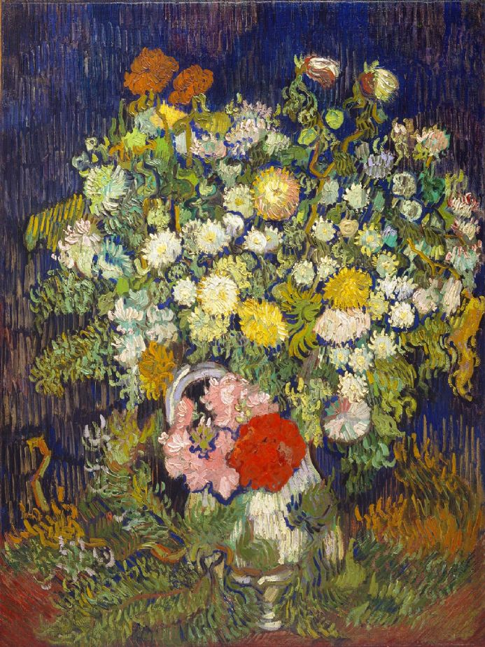 Van Gogh, Vincent: Bouquet of Flowers in a Vase. Fine Art Print/Poster (004185)